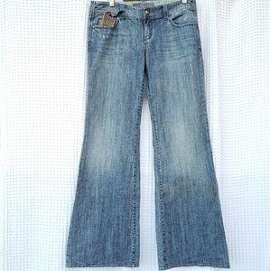 Anthroplogie Level 99 wide leg jeans NWT size 30